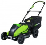 lawn mower Greenworks 2500502 G-MAX 40V 19-Inch DigiPro Photo, description