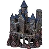 Photo Penn Plax Wizard's Castle Aquarium Decoration Hand Painted With Realistic Details Over 10 Inches High, best price $18.30, bestseller 2018