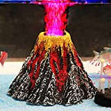 Photo Uniclife Aquarium Volcano Ornament Kit with Air Stone bubbler Fish Tank Decorations, best price $18.49, bestseller 2019