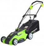 Greenworks 25147 1200W 40cm 3-in-1, lomaire faiche Photo